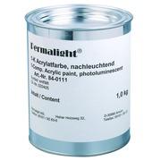 Fotoluminescente verf voor muren