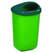DE_Plastic vuilnisbakken voor muurbevestiging