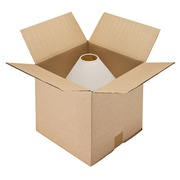 Carton Caisse américaine kraft brun double cannelure L 35 x l 35 x H 35 cm