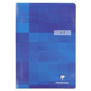 Clairefontaine index 96p A4 stapled, checked 5/5