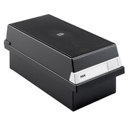 Black card box A6 (105x148 mm) with cover