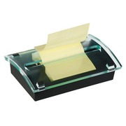 Block 100 yellow Post-it Z-notes, 76 x 127 mm, + dispenser
