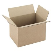 Carton Caisse américaine kraft brun simple cannelure L 20 x l 14 x H 14 cm