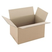 Carton Caisse américaine kraft brun simple cannelure L 30 x l 20 x H 17 cm