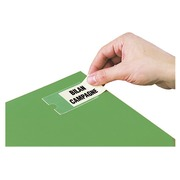 Box of 120 adhesive labels 25 x 75 mm