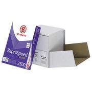 Doos met papier Bruneau Reprospeed Extra A4 80 g - 2500 vellen - wit
