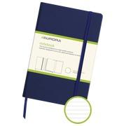 Carnet 140 x 215 mm ligné 192 pages bleu