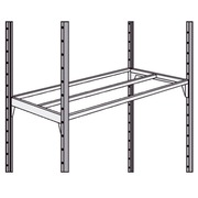 Set of 2 shelves Industripro 100 x 40 cm