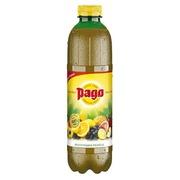 Packung mit 6 Flaschen mit 1 l Pago Multivitamin