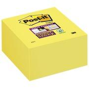 Bloc cube repositionnable Super Sticky Post-it 76 x 76 - bloc de 350 feuilles
