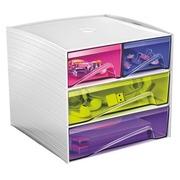 Mini klasseermodule in plastic Cep My Cube veelkleurig