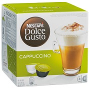 Capsules de café Nescafé Dolce Gusto Cappuccino - Boîte de 8 + 8