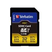 Verbatim PRO+ - carte mémoire flash - 32 Go - SDHC UHS-I