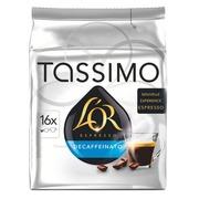 Capsules de café Tassimo L'Or Espresso Decaffeinato - Paquet de 16