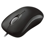 Microsoft Basic Optical Mouse for Business - souris - PS/2, USB - noir