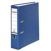 Geplastificeerde hefboommap Falken A4 rug 7,5 cm blauw