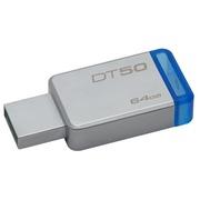 Kingston DataTraveler 50 - USB-flashstation - 64 GB