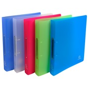 Ring binder 2 rings of 30 mm polypropylene CHROMALINE - Maxi A4 size