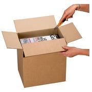 Carton Boîte multi usage, à hauteur variable L 21,5 x l 15,5 x H 10/14 cm