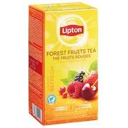 Thee Lipton rode vruchten - doos van 25 zakjes