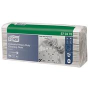 Weißes Tuch für industrielle Reinigung Tork W4 - Paket von 65