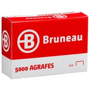 Agrafe Bruneau 26/6 galvanisée – Boîte de 5000