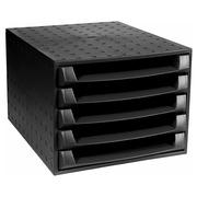 Exacompta The Box Drawer Set Black