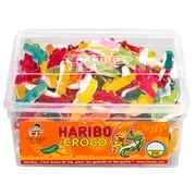 Krokodillensnoepjes Haribo - doos van 1300 g.