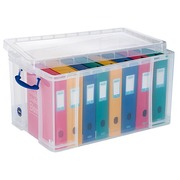 Boîte de rangement Really-Useful-Box plastique 84 L incolore