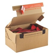 Mail box cardboard model send and return 28,2 x 19,1 x 14 cm