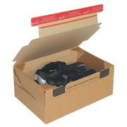 Mail box cardboard model send and return 38,4 x 29 x 19 cm