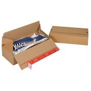 Boîte d'expéditon Eurobox à fond automatique L 40 x l 20 x H 10 cm