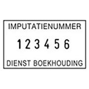 COLOP Classic 2106 nummerstempel 6 banden, 4 mm