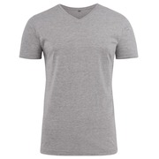 Printer Heavy V t-shirt Grey 4XL