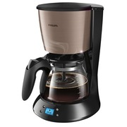 Philips Daily Collection HD7459 - koffiezetapparaat - kopermetaal
