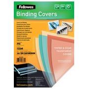 Couverture Fellowes A4 PVC 240 micron 100 pièces