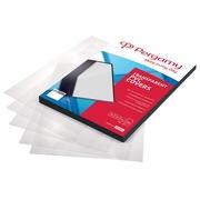 Pergamy couvertures en PP ft A4, 300 microns, paquet de 100 pièces, mate