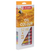 Talens Art Creation peinture à l'huile tube de 12 ml, set de 12 tubes en couleurs assorties