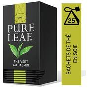 Grüner Tee Jasmin Pure Leaf - Schachtel von 25 pyramideförmigen Beuteln