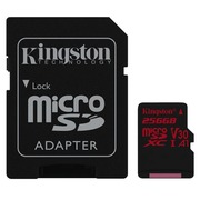 Kingston Canvas React - carte mémoire flash - 256 Go - microSDXC UHS-I