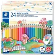 Staedtler crayon de couleur Noris Club effaçable 24 crayons