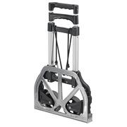 Foldable trolley aluminium - capacity 60 kg