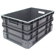 Piling box European norm in plastic Viso - 50 L