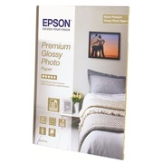 Epson Premium Glossy Photo Paper - papier photo - 30 feuille(s) - 130 x 180 mm - 255 g/m²