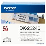 Brother DK-22246 - doorlopende etiketten - 1 rol(len) - Rol (10,3 cm x 30,48 m)