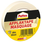 Ruban de masquage Pattex 25mmx50m crème