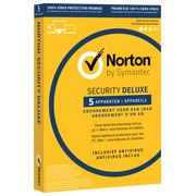 Norton Security Deluxe 2019 - 5 Appareils - 1 an - PC/Mac/iOS/Android