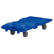 Stackable and rolling platform - capacity 150 kg