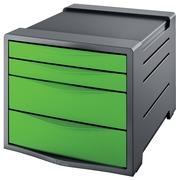 Esselt bloc à tiroirs Vivida 4 tiroirs, vert