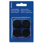 Maul aimant MAULsolid, diamètre 20 mm, noir, blister de 8 pièces